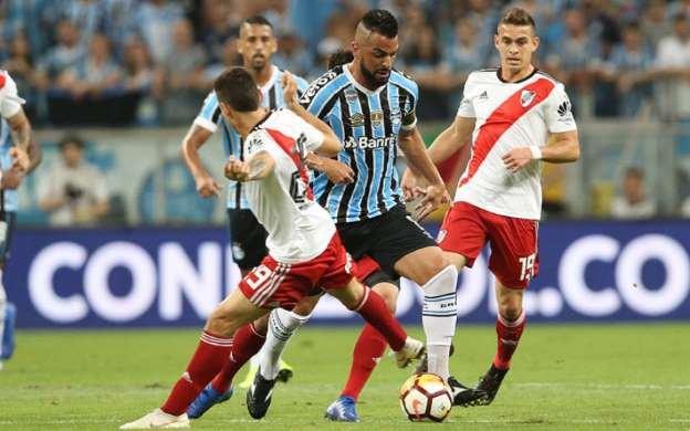 Grêmio toma a virada do River e cai na semi da Libertadores