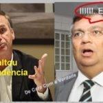 """""""Bolsonaro é presidente""""  Flávio Dino usa o adjetivo, caracteriza o substantivo indicando-lhe qualidade"""