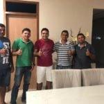 O suplente de vereador Jean Feitosa na noite desta segunda freira 05/11,  declarou seu apoio de adesão ao prefeito Toinho Patioba