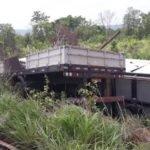 Motorista de carreta morre em acidente na BR-135, na Região do Barreiro em Paraibano