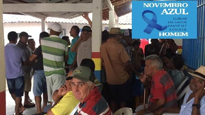 Prefeitura de Gonçalves Dias encerra Novembro Azul com atendimento ao publico e varias atividades