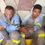 Usando uniforme da cemar, dois homens foram presos após sequestrarem  um carro da companhia
