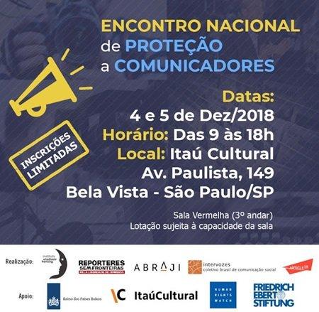 Maranhão será denunciado em Congresso Nacional de Defesa de Comunicadores