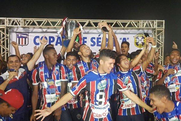 Maranhão garante vaga no Brasileirão Série D