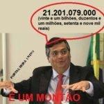 """""""Governador Flávio Dino"""" De acordo com o projeto, o Orçamento de 2019 prevê uma receita global de vinte e um bilhões, duzentos e um milhões, setenta e nove mil reais"""
