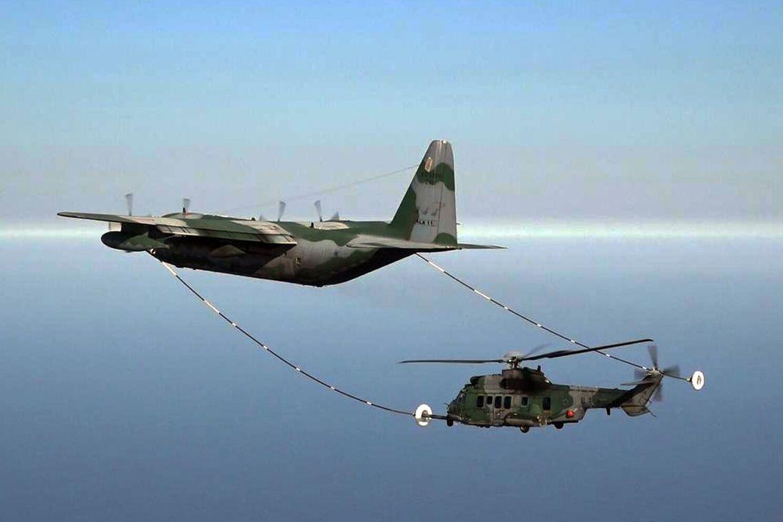 Força Aérea Brasileira (FAB) realizam a primeira fase da Campanha de Ensaio para certificação do sistema de Reabastecimento em Voo
