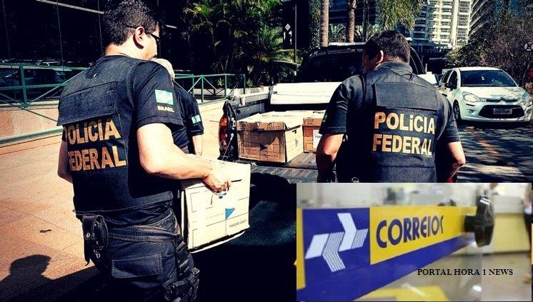Polícia Federal  cumpre mandado de prisão contra funcionários dos Correios de várias cidades do Maranhão, por desvio de dinheiro