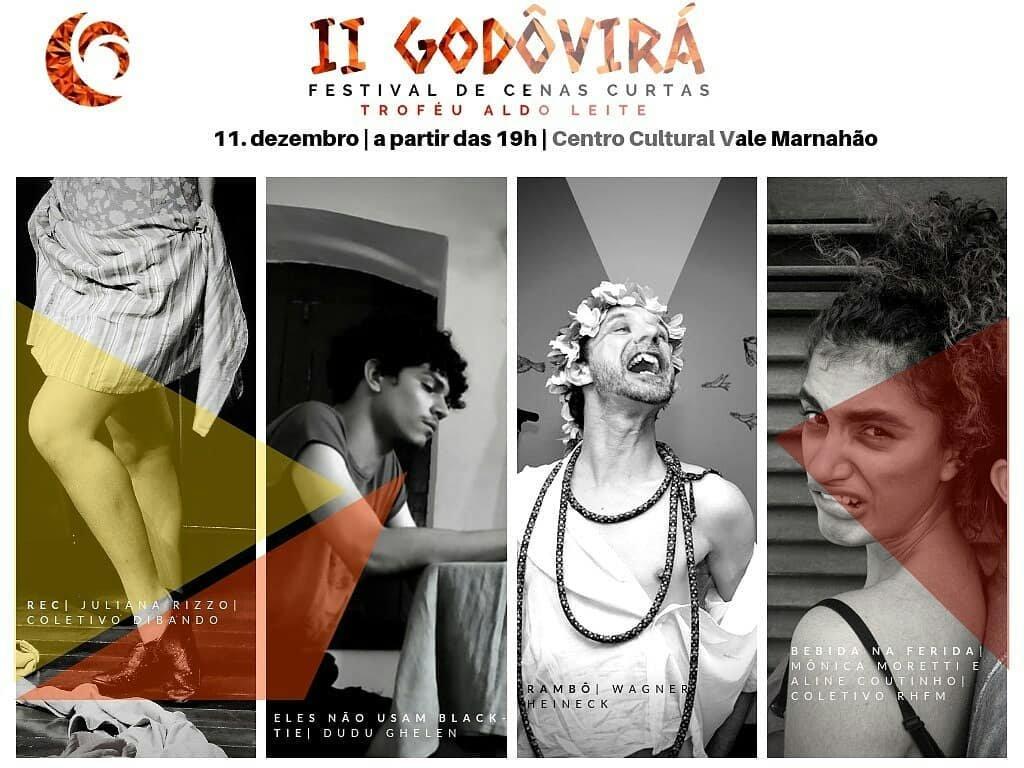 CCVM recebe a segunda edição de Godô Virá - Festival de Cenas Curtas