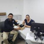 Prefeito Toinho Patioba visita Núcleo Estadual de Saúde do Maranhão