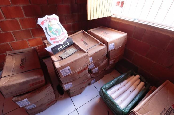 Material explosivo encontrado na Granja Lisboa em Fortaleza