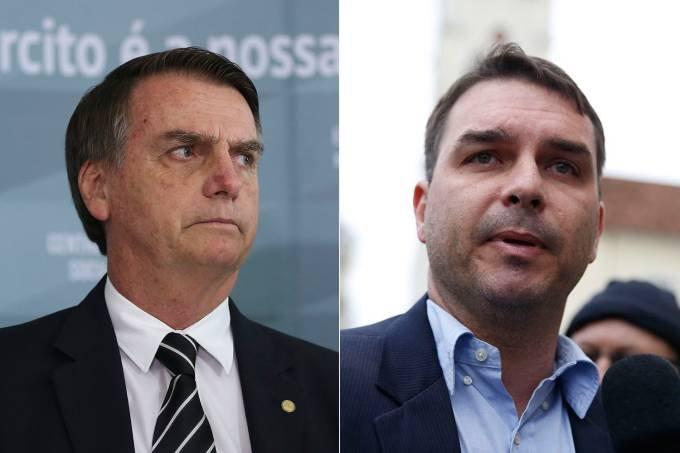 Diz Bolsonaro: Se Flávio errou, vou lamentar como pai, mas ele terá que pagar