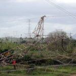 Com a queda de torre de energia, rodovia no Ceará continua interditada