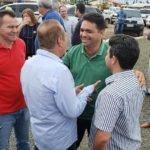 Prefeito Toinho Patioba, em Parnarama  atendendo convite do vice-governador e prefeito Raimundinho Silveira