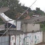 Avião cai em Belém  e deixa um homem morto e dois feridos