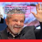 Dois ex-presidentes presos no Brasil, isso é uma vergonha!