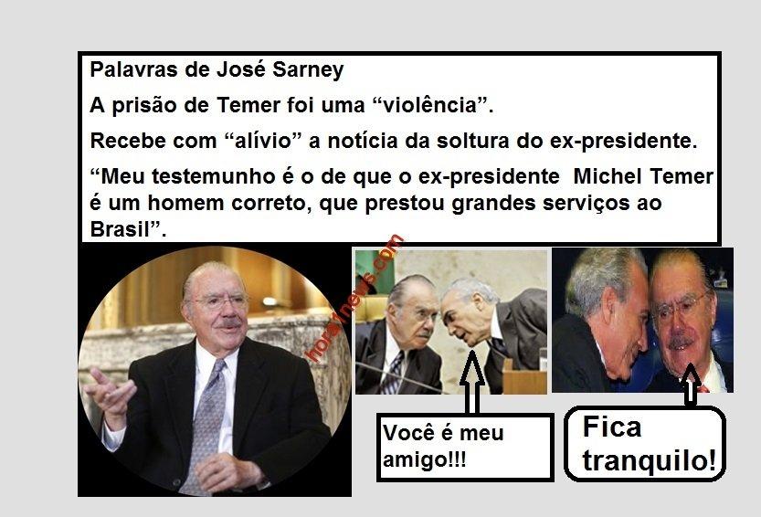 """"""" SARNEY """" SERÁ MENTIRA OU SERÁ VERDADE?......"""