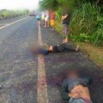Em tentativa de assalto dois índios são assassinados na BR 226