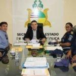 SECRETARIA DE SEGURANÇA REÚNE COM REPRESENTANTES DA GUARDA MUNICIPAL DO INTERIOR DO ESTADO