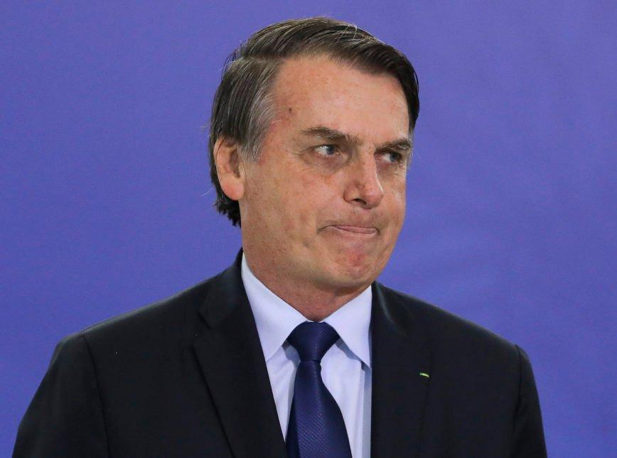 Bolsonaro ironiza em seu perfil do Twitter resultado da pesquisa Datafolha