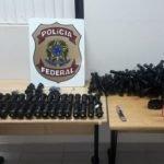 Polícia Federal prende homem por tráfico de acessórios para armas