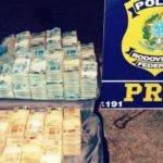 PRF apreende cerca de R$4,5 milhões durante fiscalização na BR-070 em Poconé/MT
