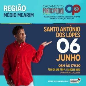 Santo Antonio dos Lopes realizará audiência pública dia  06 de junho