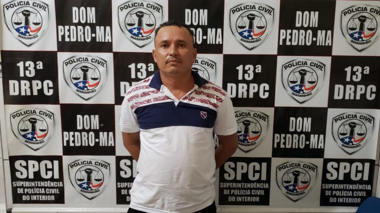 Condenado por roubo no Ceará é preso pela Polícia Civil em Dom Pedro/MA