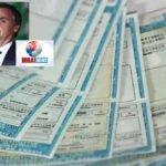 Pretensões de Bolsonaro, carteira de habilitação passa de 5 para 10 anos e pontos para perde-la passa de 20 para 40