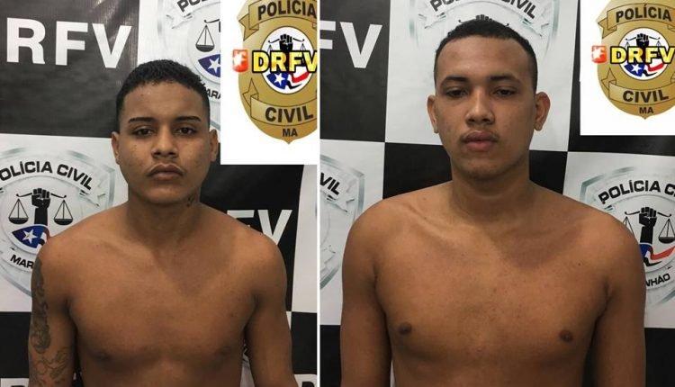 DOIS HOMENS SÃO PRESOS PELA POLÍCIA CIVIL POR ROUBO DE MOTOCICLETAS em São Luis