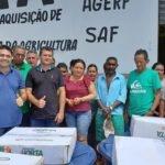 Toinho Patioba entrega kits para irrigação de agricultura Familiar