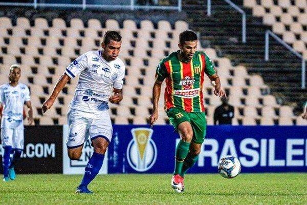 Sampaio  empata com o Confiança, por 1 a 1 no Estádio Castelão