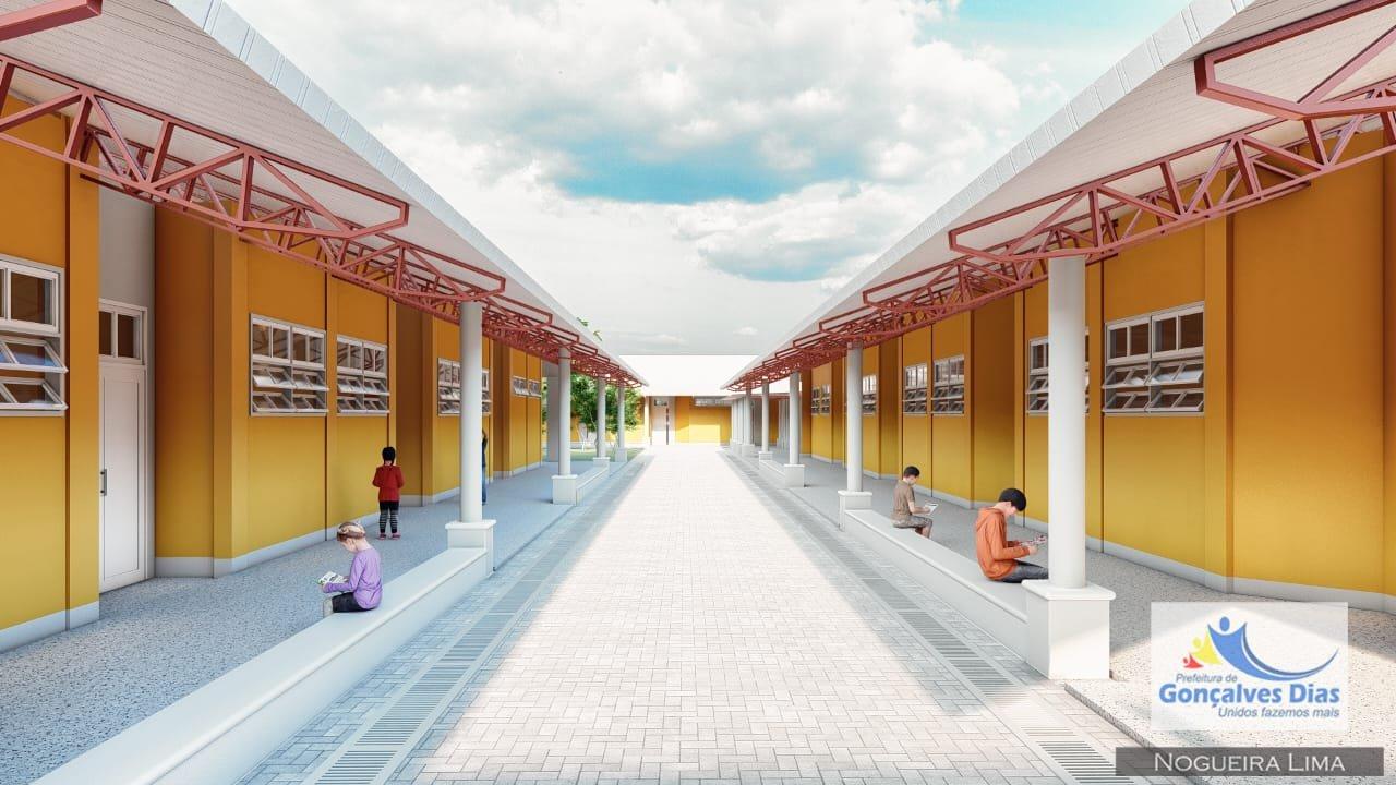 O Projeto da Escola Modelo, carro chefe da grande revolução que o prefeito Toinho Patioba irá proporcionar na educação pública municipal de Gonçalves Dias está pronto