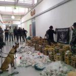 """""""Rio de Janeiro""""  Operação contra o tráfico apreende mais de duas toneladas de drogas"""