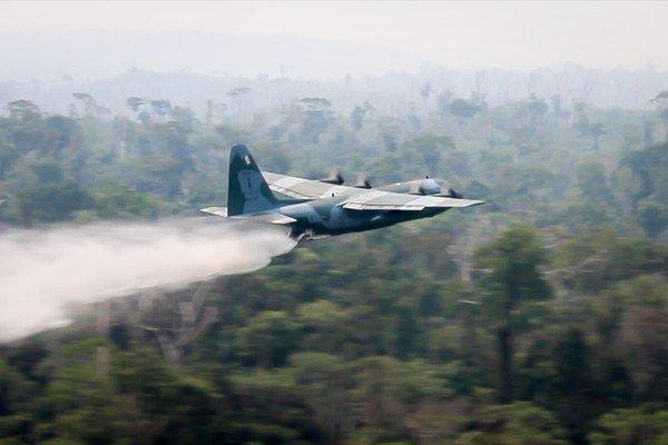 Mais de 43 mil militares das Forças Armadas reforçam ações de combate a incêndios na Amazônia