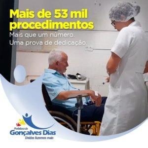 O Hospital Municipal de Gonçalves Dias mostra o  trabalho prestado em  2018