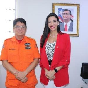 Daniella Tema solicita instalação do Corpo de Bombeiros em Presidente Dutra