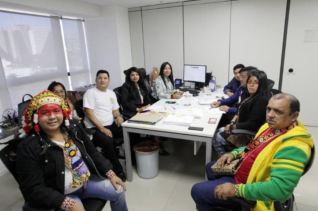 Indígenas Guajajara levam demandas de seu povo à SESAI