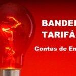 Energia elétrica em setembro continua bandeira vermelha