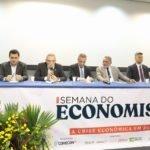 Neto Evangelista representa a Assembleia Legislativa na abertura da Semana do Economista