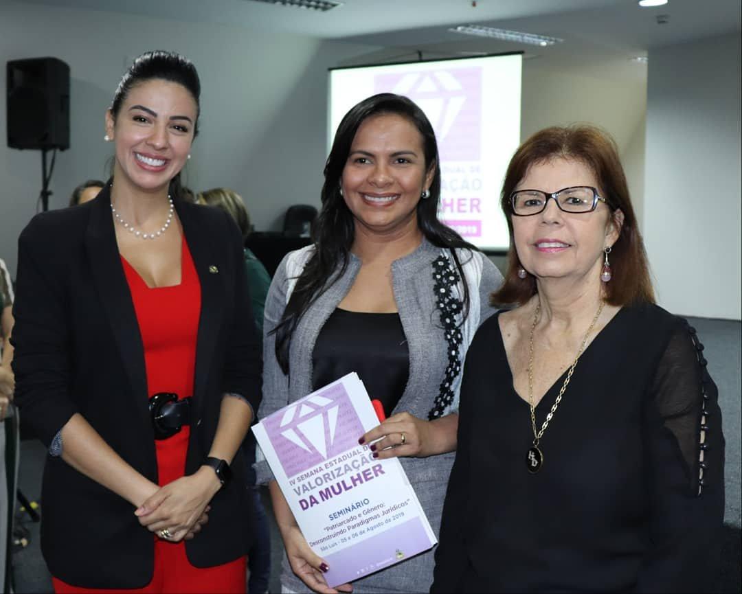 Daniella Tema participa da abertura da IV Semana de Valorização da Mulher em São Luís