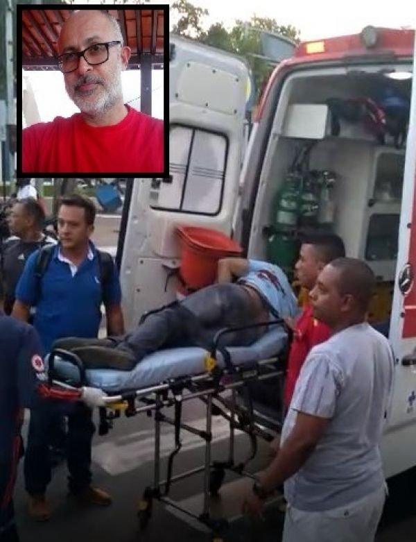 Delegado é baleado dentro da Delegacia durante depoimento de preso