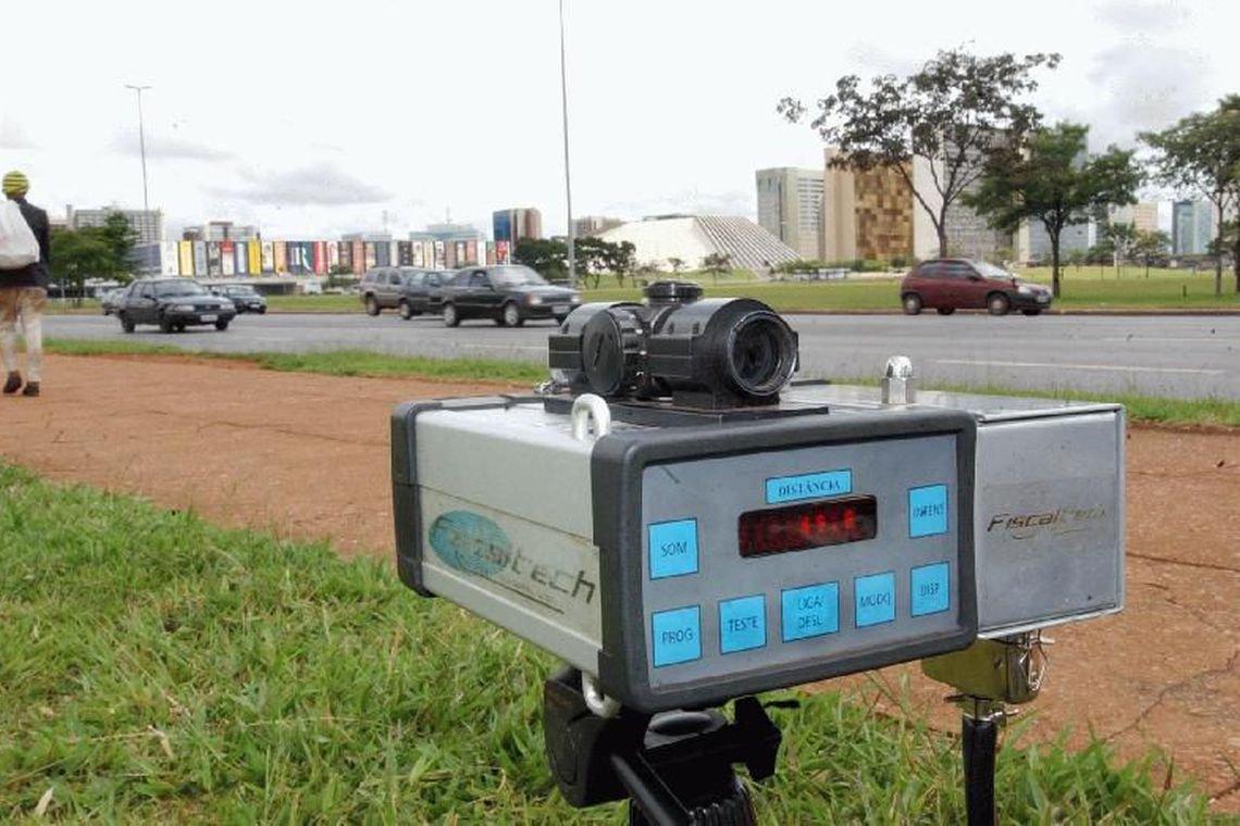 PRF retira radares móveis da fiscalização das rodovias federais