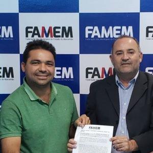 Toinho Patioba firma termo de compromisso com FAMEM E CEMAR