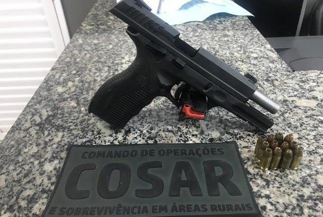 EM APENAS 48 HORAS, 5 ARMAS DE FOGO FORAM TIRADAS DE CIRCULAÇÃO PELA POLÍCIA MILITAR NA ÁREA DE BACABAL