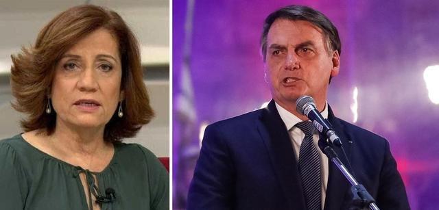 Miriam Leitão denuncia: Bolsonaro vai torrar R$ 40 milhões para tentar mudar sua imagem