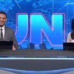 Primeira dupla de âncoras do Jornal Nacional chamam atenção dos telespectadores