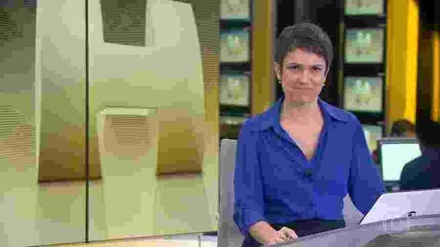 """Sandra Annenberg não queria deixar o comando do jornal Hoje: """"arrasada"""""""