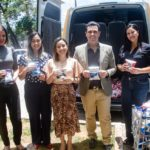 Fábio Macedo entrega mais de mil pacotes de leite ao Hospital Nina Rodrigues