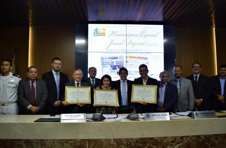 Jornais impressos de São Luis, são homenageados pelo Governador