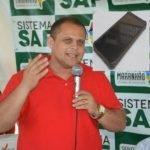 Vice-prefeito de Poção de Pedras é preso com celular roubado
